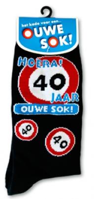 Voorkeur sokken man 40 jaar | Feestartikelen feestreus.nl. Slingers #QB98